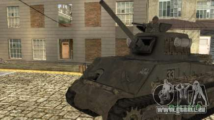 Panzer M4 Sherman für GTA San Andreas