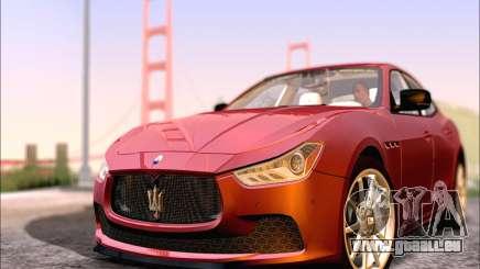 Maserati Ghibli 2014 pour GTA San Andreas