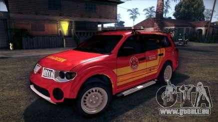 Mitsubishi Pajero Dakar 2014 CBESP pour GTA San Andreas
