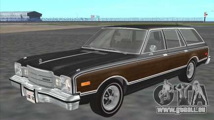 Plymouth Volare Wagon 1976 wood pour GTA San Andreas
