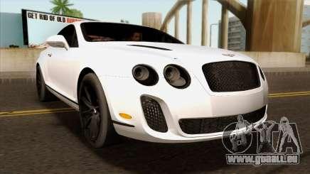 Bentley Continental SS 2010 pour GTA San Andreas