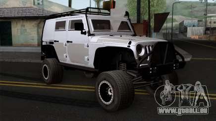Jeep Wrangler 2013 Fast & Furious Edition pour GTA San Andreas