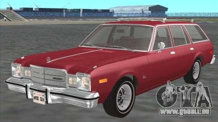 Plymouth Volare Wagon 1976 pour GTA San Andreas