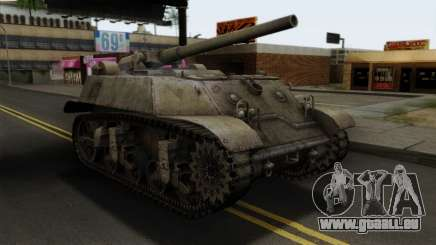 T57 Self Propelled Gun für GTA San Andreas