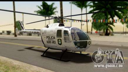 MBB Bo-105 Argentine Police für GTA San Andreas