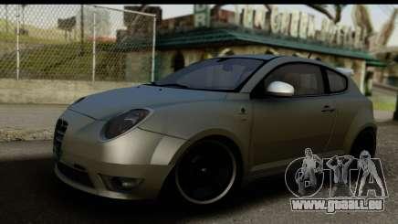 Alfa Romeo Mito Tuning für GTA San Andreas