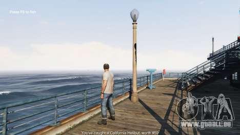 GTA 5 La pêche troisième capture d'écran