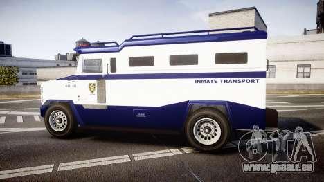 GTA V Brute Police Riot [ELS] skin 3 für GTA 4 linke Ansicht
