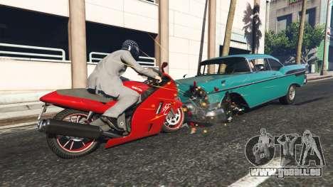GTA 5 La ceinture de sécurité v1.1