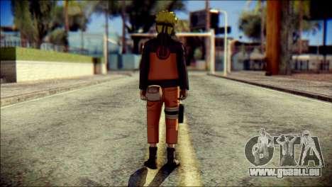 Naruto Skin pour GTA San Andreas deuxième écran