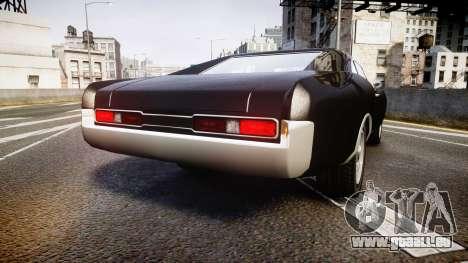 Imponte Dukes Fast and Furious Style pour GTA 4 Vue arrière de la gauche