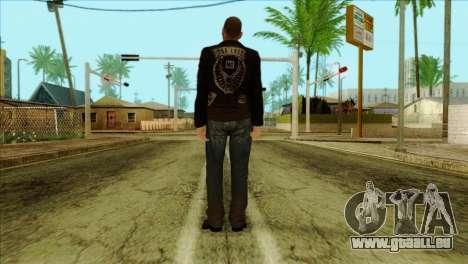 Johnny from GTA 5 pour GTA San Andreas deuxième écran