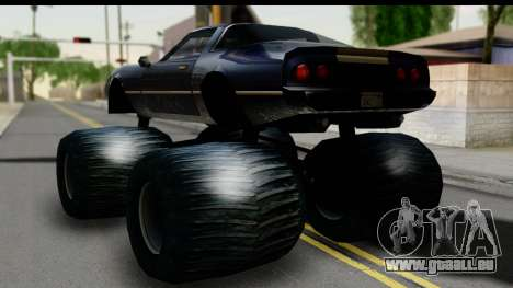 Monster Phoenix für GTA San Andreas linke Ansicht