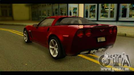 Chevrolet Corvette Grand Sport 2010 für GTA San Andreas linke Ansicht