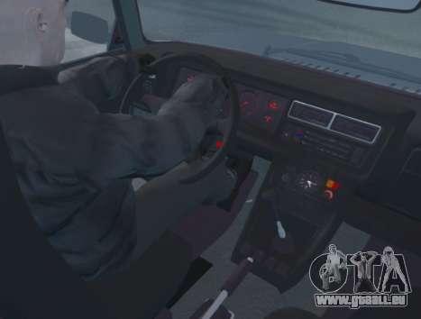 VAZ 2107 de Vidange pour GTA 4 est un droit