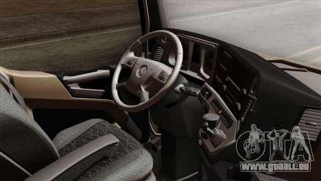 Mercedes-Benz Actros MP4 Euro 6 für GTA San Andreas rechten Ansicht
