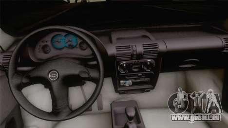 Chevrolet Corsa Classic 2009 pour GTA San Andreas vue de droite
