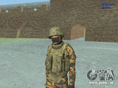 Kämpfer in alpinen flora für GTA San Andreas her Screenshot
