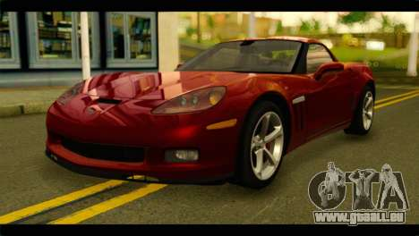 Chevrolet Corvette Grand Sport 2010 für GTA San Andreas