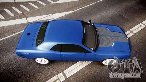 Dodge Challenger RT 2006 Pursuit Vehicle [ELS] für GTA 4 rechte Ansicht