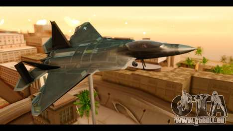 F-22 Raptor Flash für GTA San Andreas