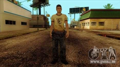Ellis from Left 4 Dead 2 für GTA San Andreas