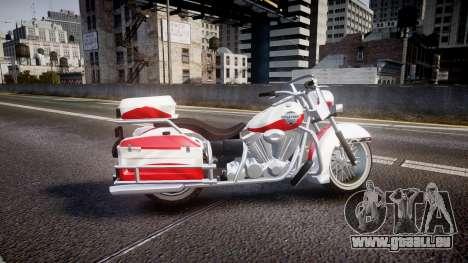 GTA V Western Motorcycle Company Sovereign POL pour GTA 4 est une gauche