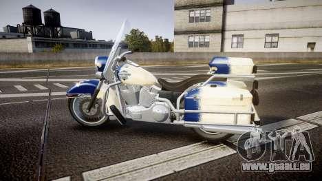 GTA V Western Motorcycle Company Sovereign QC für GTA 4 linke Ansicht