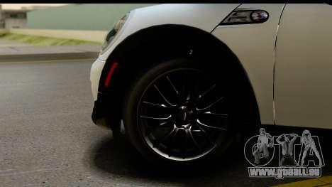 Mini Cooper Clubman 2011 für GTA San Andreas Rückansicht