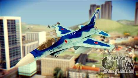 Mitsubishi F-2A JASDF v3.0 pour GTA San Andreas