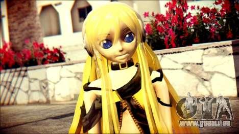Lilly from Vocaloid für GTA San Andreas dritten Screenshot
