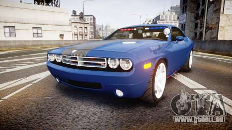 Dodge Challenger RT 2006 Pursuit Vehicle [ELS] pour GTA 4