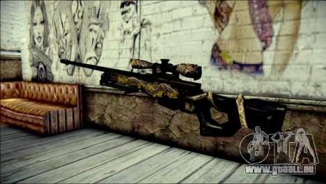 AWM Infernal Dragon CrossFire für GTA San Andreas zweiten Screenshot