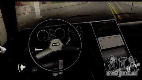 GMC Vandura G-1500 Payday 2 für GTA San Andreas Innenansicht