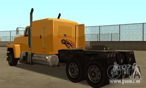 PS2 Tanker pour GTA San Andreas vue de droite