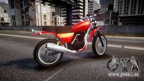 GTA V Dinka Enduro pour GTA 4 est une gauche