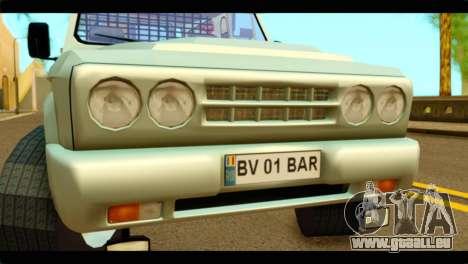 Aro 243 D pour GTA San Andreas vue arrière