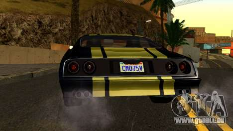 GTA 5 Imponte Phoenix IVF pour GTA San Andreas vue de côté