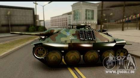 Jagdpanzer 38(t) Hetzer Chwat für GTA San Andreas rechten Ansicht