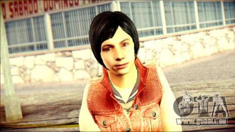 Sofia Child Skin pour GTA San Andreas troisième écran