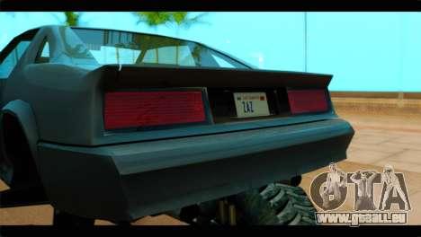 Monster Buffalo pour GTA San Andreas vue arrière