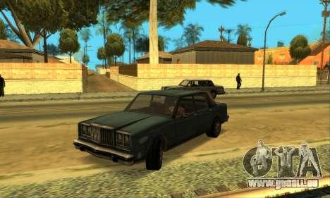 Beta VC Greenwood pour GTA San Andreas vue de côté