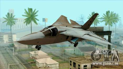 SU-27SK Indonesian Air Force pour GTA San Andreas vue arrière