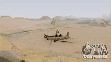 EMB T-6A Texan II US Navy pour GTA San Andreas