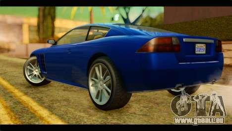 GTA 5 Ocelot F620 für GTA San Andreas linke Ansicht