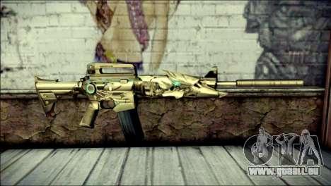 M4A1 Transformer CrossFire pour GTA San Andreas