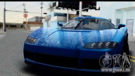 GTA 5 Overflod Entity XF IVF pour GTA San Andreas sur la vue arrière gauche