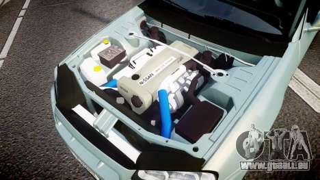 Nissan Skyline R34 GT-R M-Spec Nur pour GTA 4 est une vue de l'intérieur