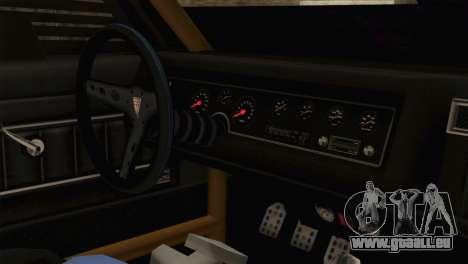 GTA 5 Imponte Dukes ODeath HQLM pour GTA San Andreas vue de droite