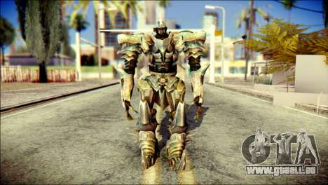 Grimlock Skin from Transformers pour GTA San Andreas